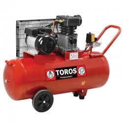 TOROS: ΑΕΡ/ΣΤΗΣ 100LT/3HP ΜΕ ΙΜΑΝΤΑ ΖΑ65-100