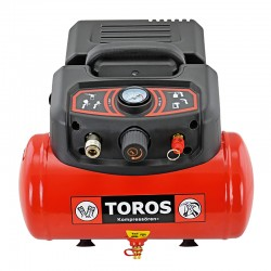 TOROS: ΑΕΡ/ΣΤΗΣ OIL-FREE 6Lt 1,5HP 230V/50Hz